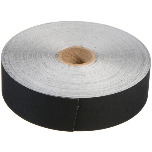 Lineco Self-Adhesive Linen Tape - Black - 1.25 x 150'
