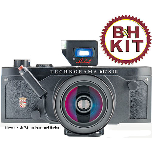 Linhof Technorama 617s III Medium Format Panorama Camera Kit