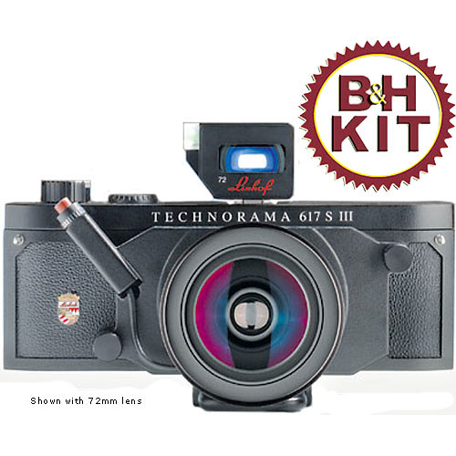 Linhof Technorama 617s III Medium Format Panorama Camera Kit