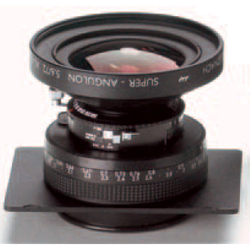 Linhof 617s III Lens Unit with Focusing Mount - Schneider 72mm f/5.6 Super Angulon XL for use with a Shift Adapter