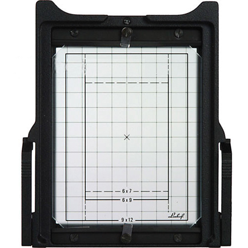 Linhof 4x5 Groundglass Frame with Gridline Groundglass