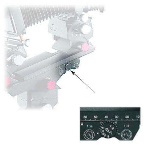 Linhof M679CS DOF Calculator Dial for 36 x 48mm