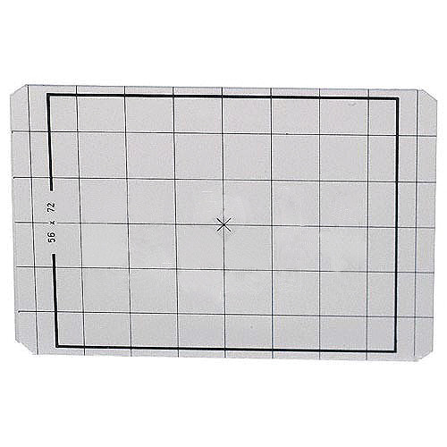 Linhof 2x3 Groundglass Focusing Screen with 1cm Grid