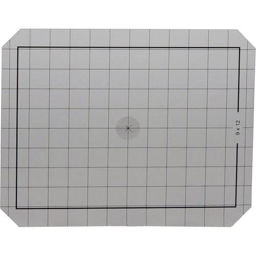 Linhof 4x5 Groundglass Focusing Screen with Center Spot
