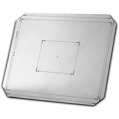 Linhof 8x10 Groundglass Focusing Screen with 1cm Grid Lines