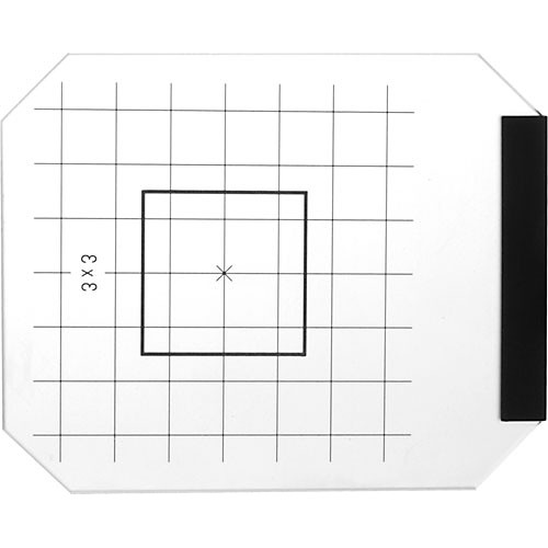 Linhof Focusing Screen with 3x3cm