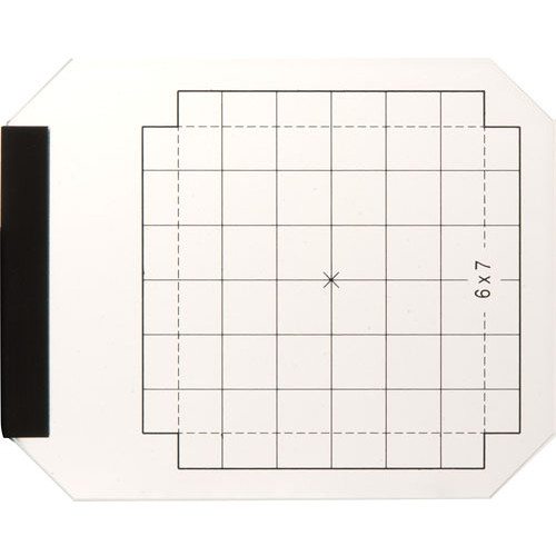 Linhof M679 Groundglass Focusing Screen with 6x7cm Scoring