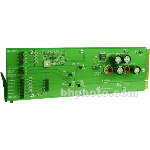 Link Electronics DigiFlex 1132/1033 SDI Digital Distribution Amplifier Module