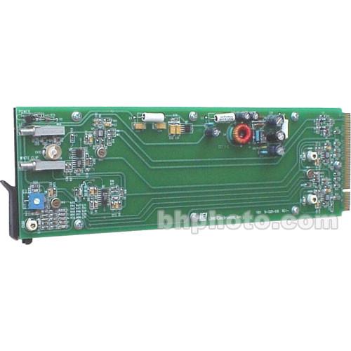 Link Electronics 11511011 1x8 Video Distribution Amplifier - Composite, Rack Frame Configuration, Level Control, DC Coupling, White Clip