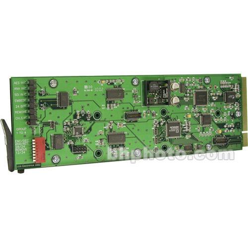 Link Electronics 11801080 SDI Audio Multiplexer/Demultiplexer - Embed/De-embed Digital Audio Onto SDI Video