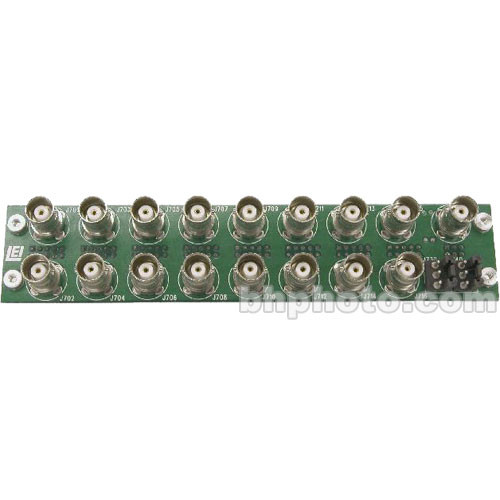 Link Electronics 816-OP/F AES for BNC Module for AVS-816 Routing Switcher