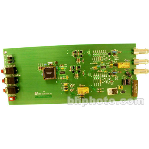 Link Electronics 818-OP/CFI Auto Switch for Color Field ID - Rack Card for SPG-812 and PCO-818 Chassis
