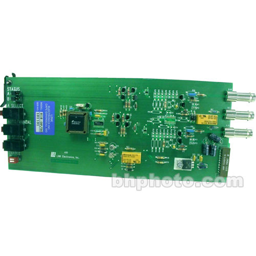 Link Electronics 818-OP/SC Auto Switch for Subcarrier  - Rack Card for SPG-812 and PCO-818 Chassis