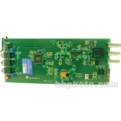 Link Electronics 818-OP/SDI Auto Switch for SDI  - Rack Card for SPG-812 and PCO-818 Chassis