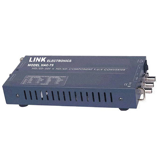 Link Electronics HD SD SDI to YUV and Composite Analog Converter