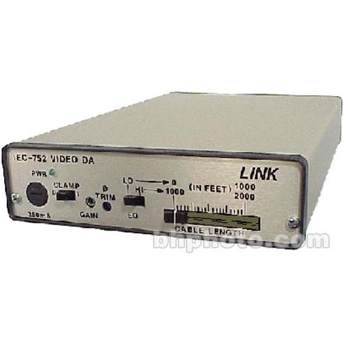 Link Electronics IEC-752 1x6 Composite Video Distribution Amplifier