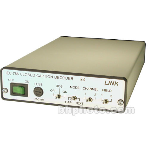 Link Electronics IEC-786 Closed Caption Decoder
