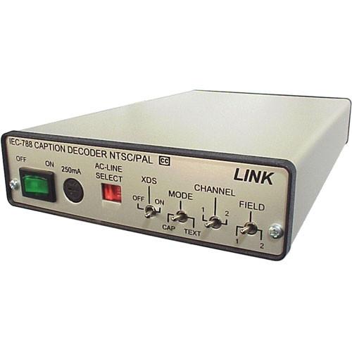 Link Electronics IEC-788/R/SE Closed Caption Decoder