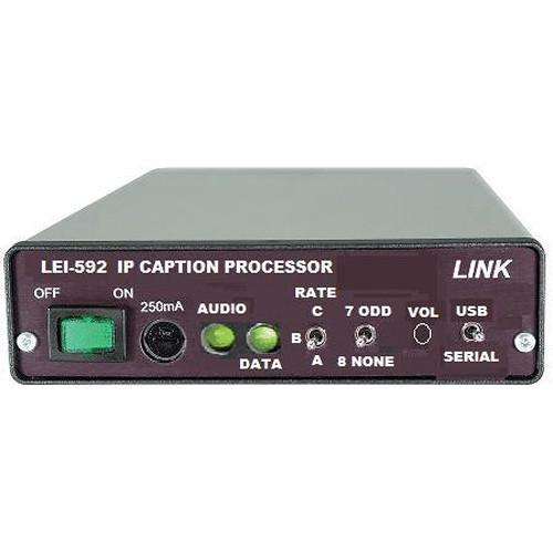 Link Electronics LEI-592M IP Caption Processor - Master