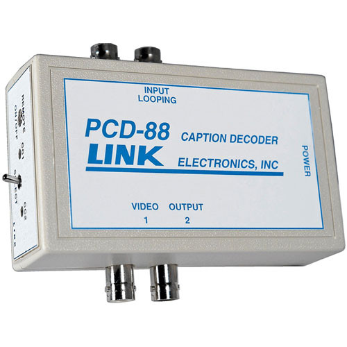 Link Electronics PCD-88 Portable Closed Caption Decoder