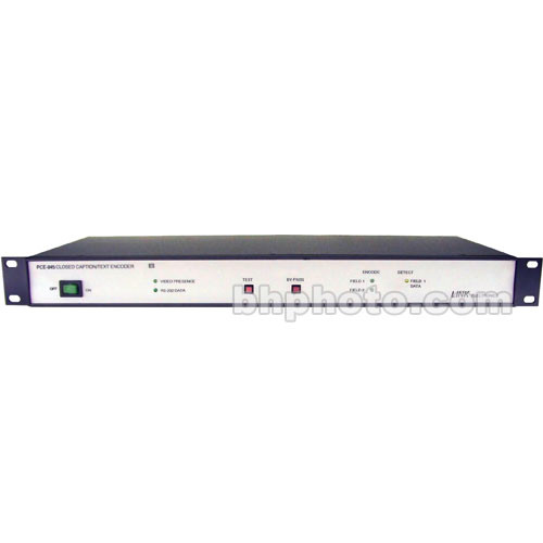Link Electronics PCE-845D Closed Caption Encoder with Decoder