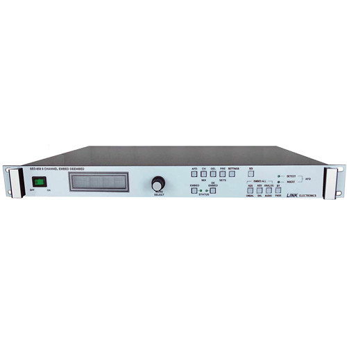 Link Electronics SED-858 HD SD SDI Embedder/De-embedder