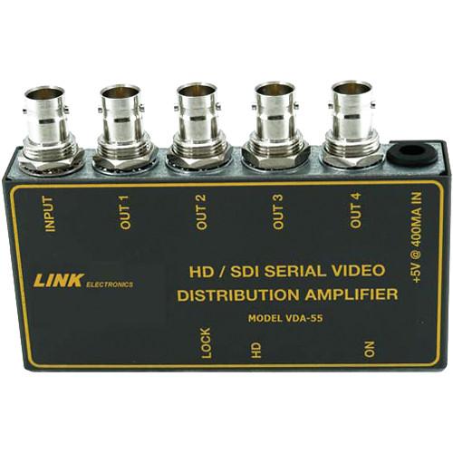 Link Electronics Hd Sd Digital Distribution Amplifier Vda 55