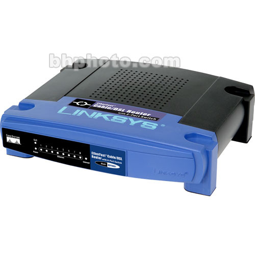 Linksys EtherFast Cable/DSL Router with 8-Port Switch