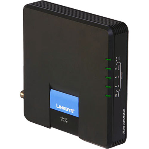 Linksys Cable Modem with USB and Ethernet Connections