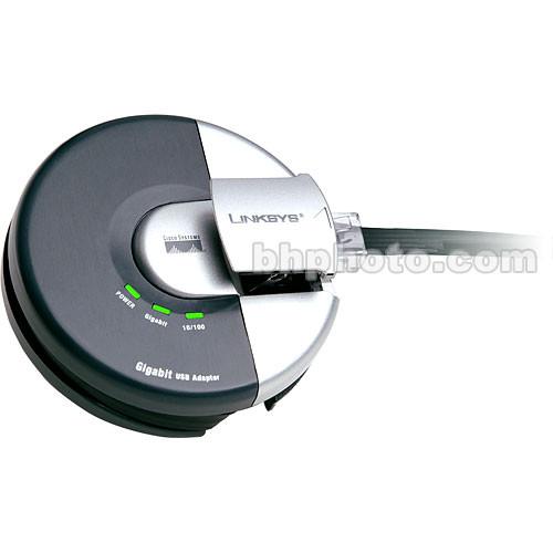 Linksys Gigabit USB Adapter 10/100/1000 Mbps Ethernet Adapter for Windows