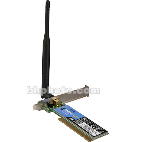 Linksys Wireless-G PCI Adapter for Desktop Computers