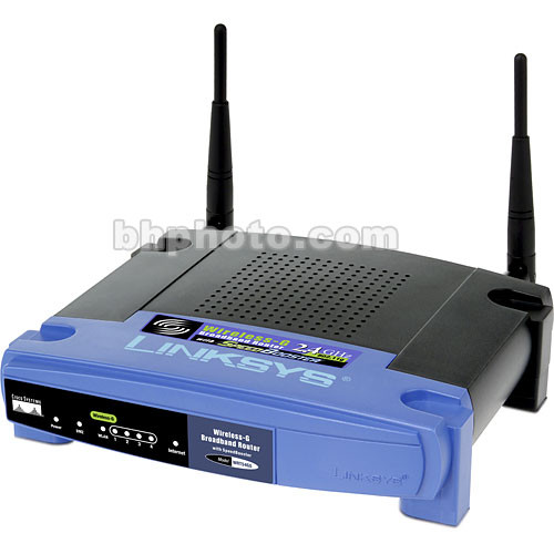 Linksys Wireless-G Broadband Router with SpeedBooster (WRT54GS)