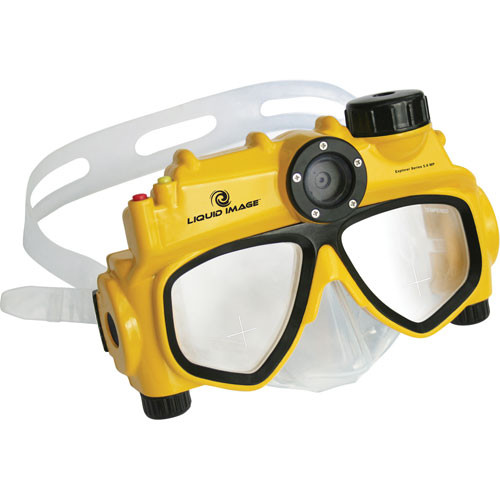 Liquid Image Digital Underwater 5MP Camera Mask