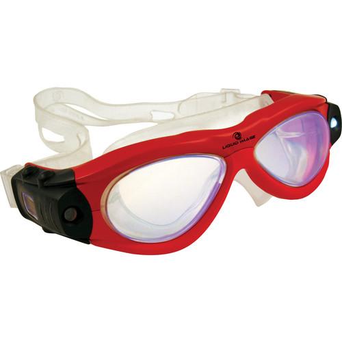 Liquid Image Freestyle Series Swim Camera Goggle (Red)