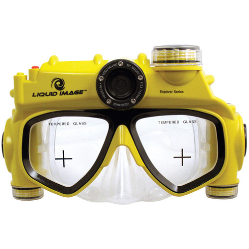 Liquid Image Explorer Series 8 MP Midsize Underwater Digital Camera Mask