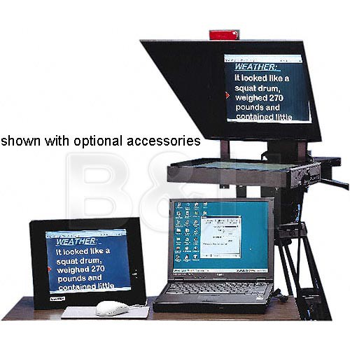 Listec Teleprompters A-6000WIN Windows Instant-Edit Prompter Program