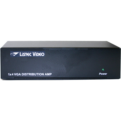 Listec Teleprompters B-1802-VGA VGA Distribution Amplifier (1 x 2)
