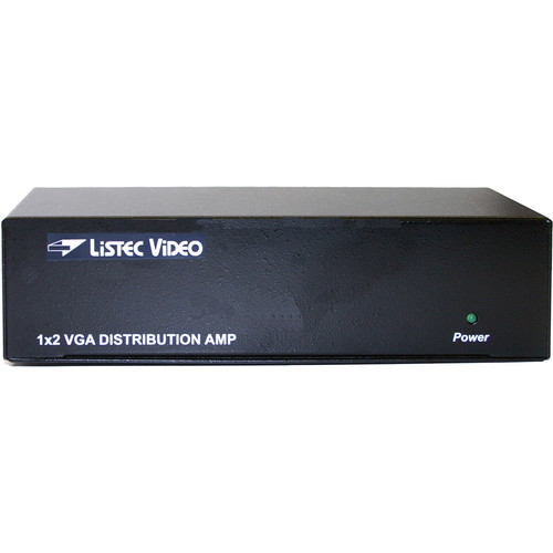 Listec Teleprompters B-1804-VGA VGA Distribution Amplifier (1 Input, 4 Outputs)