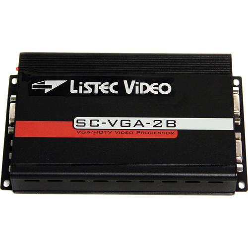 Listec Teleprompters Horizontal VGA Image Reverser