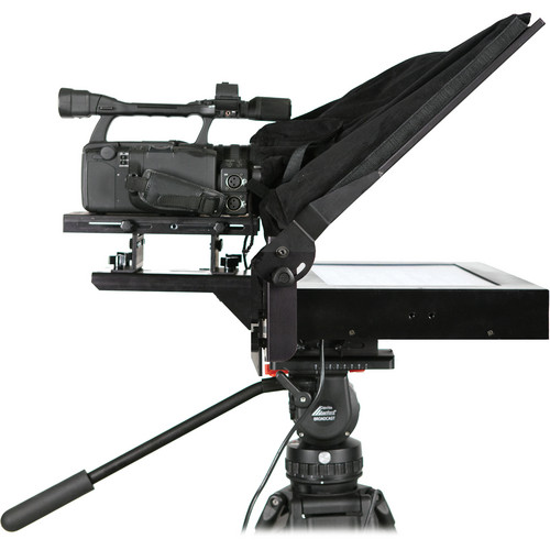 "Listec Teleprompters Z-PRO MZLT-1015PT Enhanced Portable Studio Prompter (15"")"
