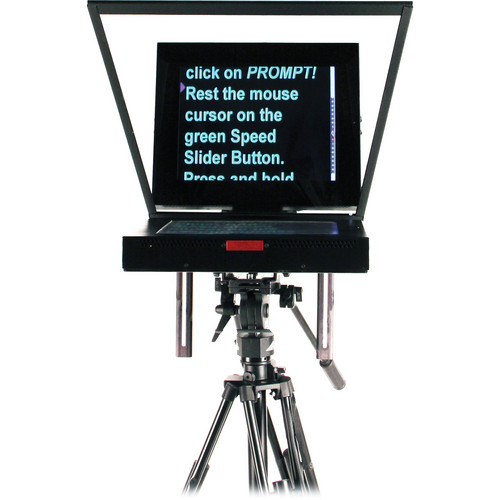 "Listec Teleprompters Enhanced Brightness  Mini DV Studio Prompter (15"")"