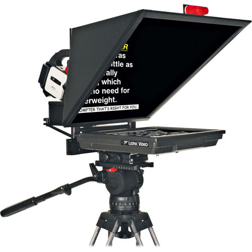 "Listec Teleprompters MZS-1015S Z-PRO 15"" Flat-Panel On-Camera Prompter"