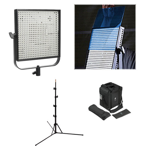 Litepanels 1x1 Two-Light LED Tungsten Flood Kit (100-240VAC)