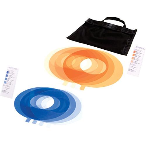 Litepanels Ringlite Mini 5 Piece Gel Set (Color Temperature Blue)
