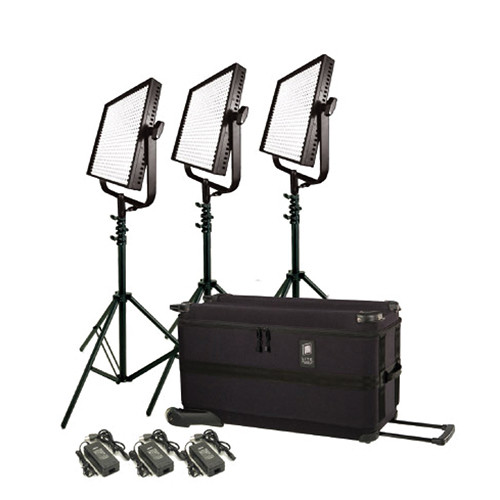 Litepanels 1x1' Traveler Trio Plus Kit