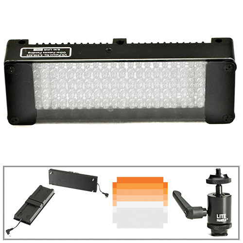 Litepanels MiniPlus Daylight Flood DV Camera Kit for Canon