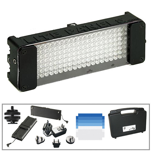 Litepanels MiniPlus Tungsten Flood 1 Lite Power Kit for Panasonic