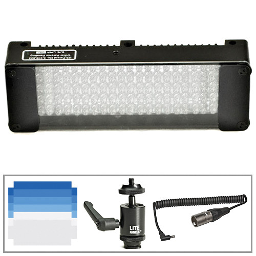 Litepanels MiniPlus Tungsten Flood Camera Lite Kit (XLR)