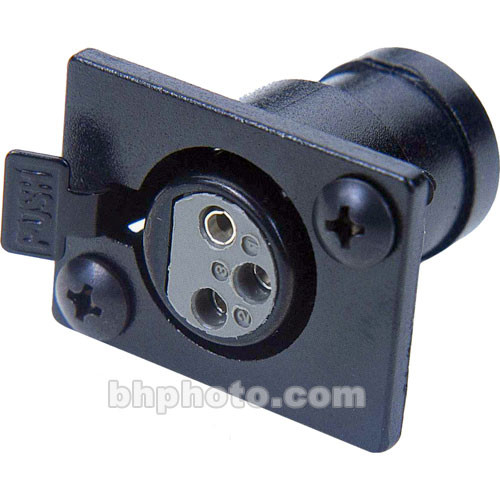 Littlite XLR-PS3 Panel Socket for X and XR Goosenecks
