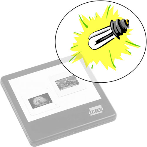 Logan Electric Replacement Lamp for Logan A7A Light Pad